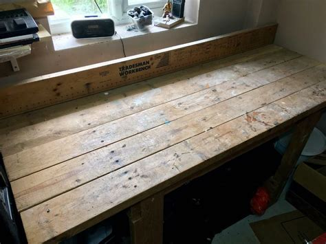 tradesman heavy duty wooden workbench  harrow london