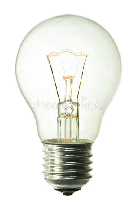incandescent lighted bulb stock image image  halogen