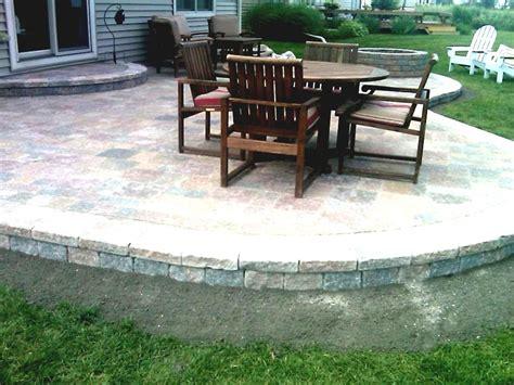 simple brick paver patio designs modern patio outdoor