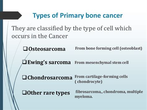 bone cancer ray