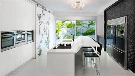 modern big kitchen design ideas 15 modern eat in kitchen designs home design lover 9194