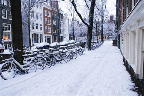 Let It Snow Over Amsterdam Amsterdamming