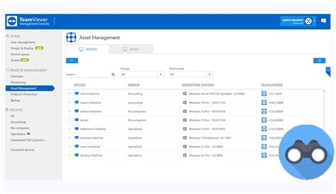 asset management teamviewer
