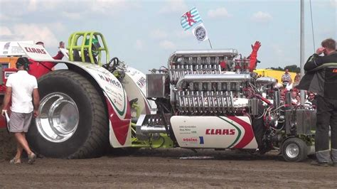 monster truck show youtube green monster fighter tractor pulling edewecht 2012 by