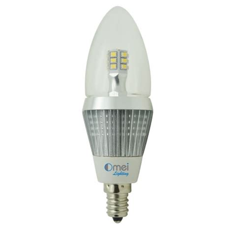 led candelabra bulbs dimmable e12 base led 5w 50 watt