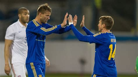 MNT vs. Ukraine: Andriy Yarmolenko Goal - March 5, 2014 ...