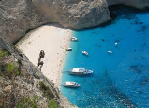 Navagio Beach Zakynthos Island Greece