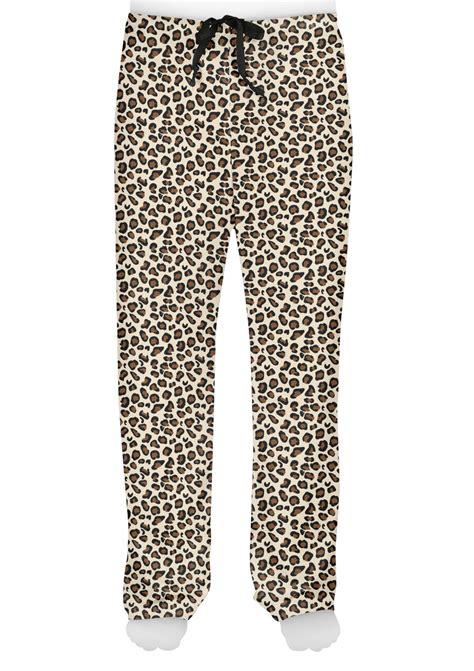 leopard print mens pajama pants personalized