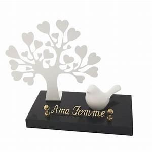 arbre coeurs blancs et oiseau aci vente directe d With chambre bébé design avec fleur artificielle funeraire pas cher