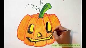 Citrouille Halloween Dessin : comment dessiner une citrouille pour halloween youtube ~ Melissatoandfro.com Idées de Décoration