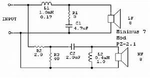 minimus 7 crossover help techtalk speaker building With crossover schematic