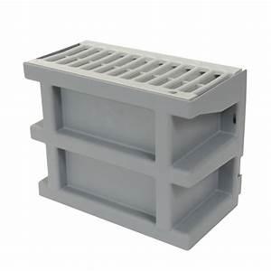 Grille Aeration Nicoll : courette d 39 a ration grise nicoll cour7g avec grille ~ Premium-room.com Idées de Décoration