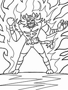 Pokemon Sun And Moon Coloring Pages To Print Free