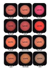 nyx cosmetics high definition powder blush hdb 0 16 oz ebay