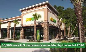 Subway Restaurants to Expand its New Look to Nearly Half ...