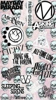 Emo Bands iPhone Wallpaper