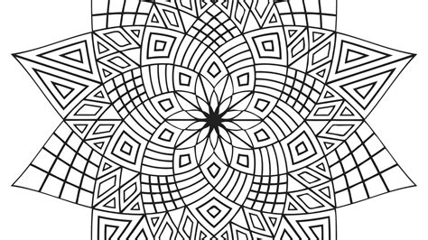 geometric coloring pages  coloring pages