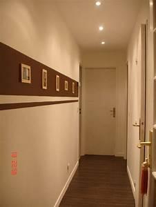 17 meilleures images a propos de couloir sur pinterest With attractive peindre un couloir en 2 couleurs 1 peindre des bandes sur un mur peinture