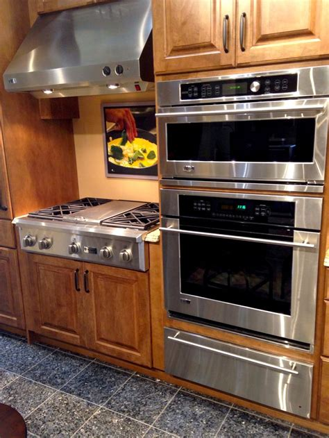 images  appliances  pinterest side  side refrigerator double wall ovens