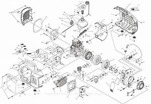 Generac 0067190  Ix2000  Parts Diagram For Full Assembly