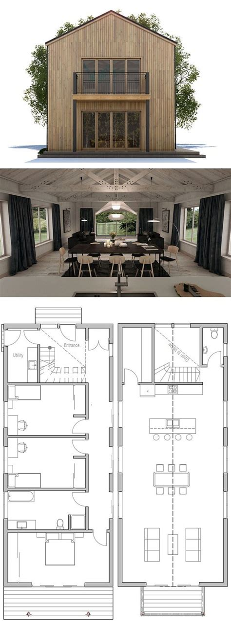 Moderne Schmale Häuser by Die 25 Besten Ideen Zu Schmales Haus Auf