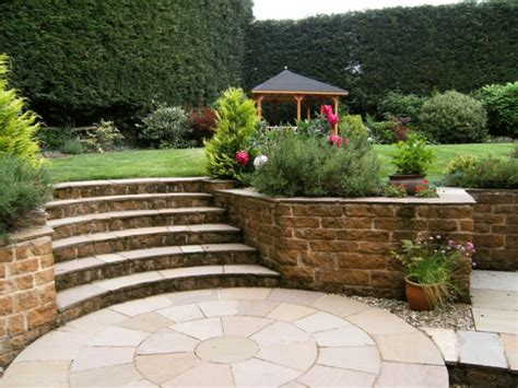 Tolle Gartenideen Mit Treppen, Die Das Exterieur Schöner