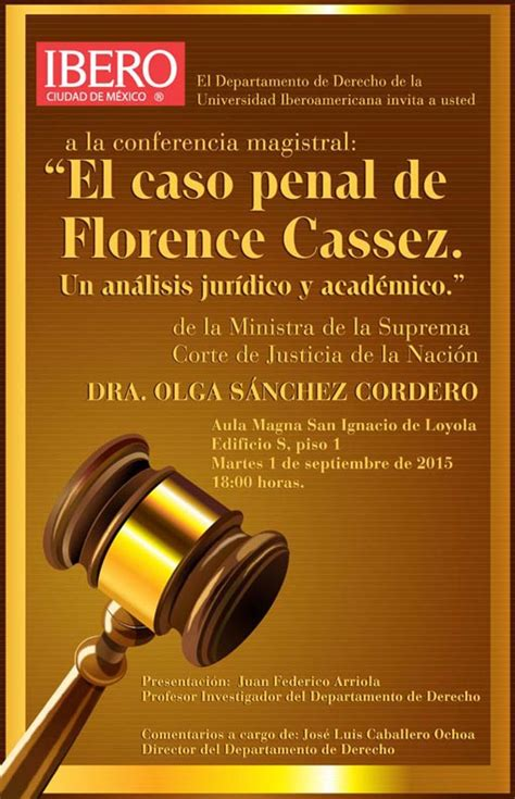 Orgullo Ibero: El caso penal de Florence Cassez