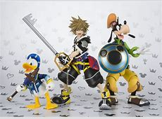 Kingdom Hearts II Sora, Mickey, Donald, and Goofy SH