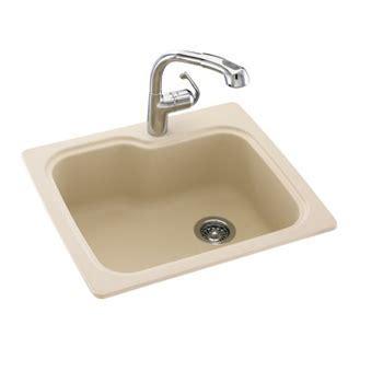 Swanstone KSSB 2522 051 Single Bowl Kitchen Sink   Tahiti