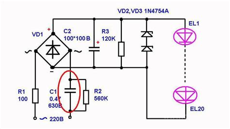led light bulb circuit diagram urbia me