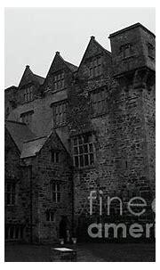 Donegal Castle Exterior bw by Eddie Barron | Unique ...