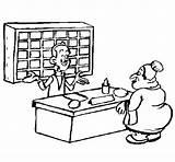 Colorear Recepcionista Receptionist Colorir Dibujos Desenho Pintar Colorare Dibujo Hoteles Dell Disegno Dibuix Imagen Disegni Profissoes Desenhos Acolore Como Dibuixos sketch template