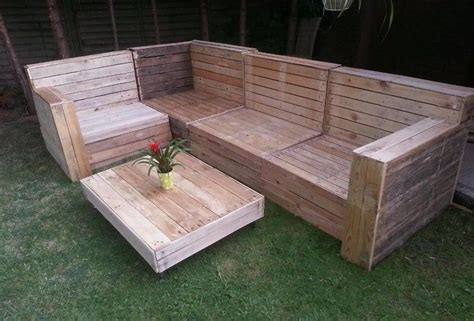diy pallet garden furniture plans   home pallet