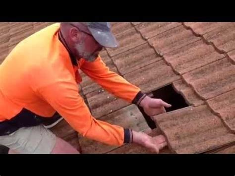 how to replace roof tile how to replace broken roof tile