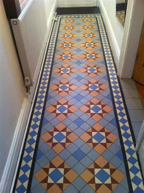 Tile Flooring Ideas For Hallways by Hallway Renovation Floor Tiles Traditional