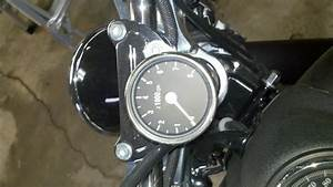 Anyone Install A Mini Tachometer On Dyna