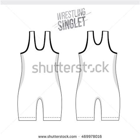 Singlet Design Template by Tricot Stock Images Royalty Free Images Vectors