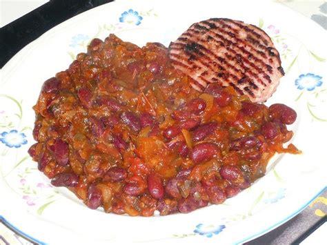 cuisiner des haricots rouges malène aux fourneaux haricots rouges aux aubergines et à