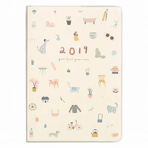 2019 A5 Weekly Diary  Sweet