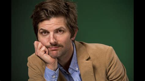 "Adam Scott talks about being a producer on ""The Overnight ..."