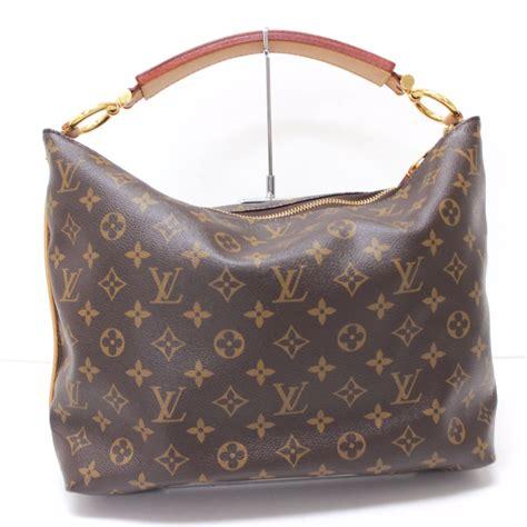 authentic louis vuitton monogram sully pm shoulder bag