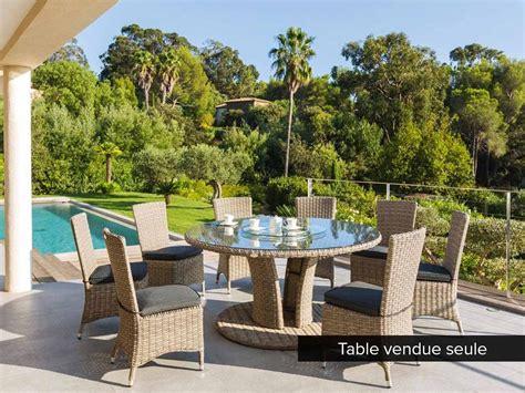 Les Hesperides Salon De Jardin by Table De Jardin Hesp 233 Ride R 233 Sine Ronde Tress 233 E Libertad Taupe