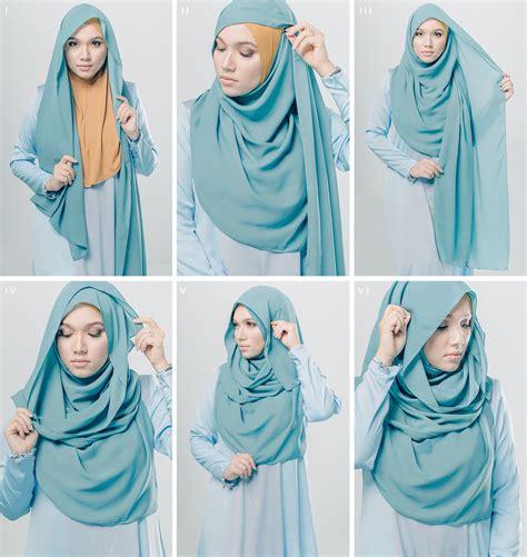 inilah tutorial hijab pashimina anggun  simple fashion hijab