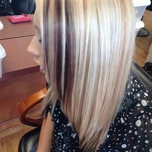 Blonde highlights Carmel lowlights mohogany underneath ...