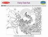 Coloring Fairy Tales Printable Doug Melissa Printables Tale Melissaanddoug Activities Secret Activity Code Pinwheel sketch template