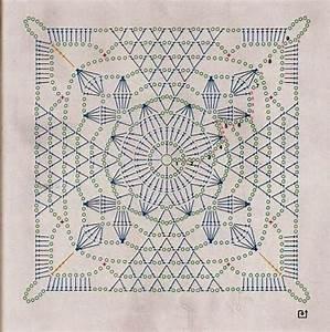 Ergahandmade  Crochet Blanket   Diagram