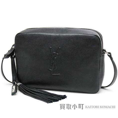 kaitorikomachi  yves saint laurent monogram saint laurent roux camera bag small black