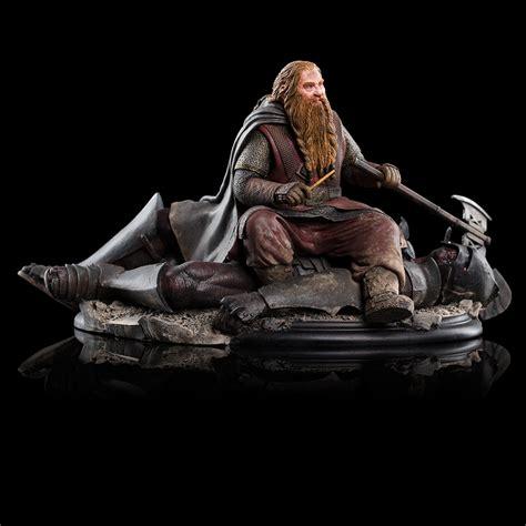 weta workshop gimli  dwarf  uruk hai