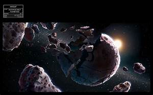 Asteroid Belt Planetoid Concept Art - Star Wars Rebels ...