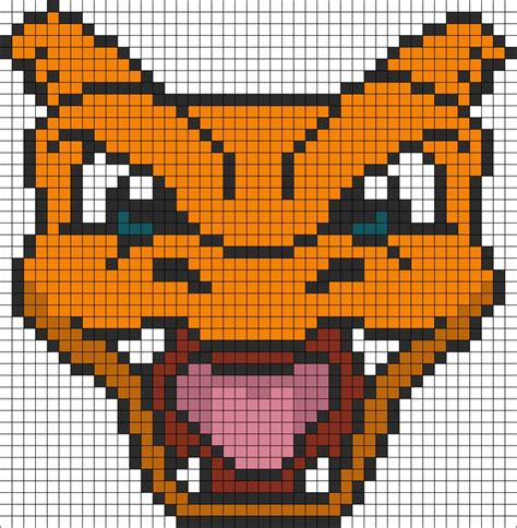 pokemon battle trozei charizard bead pattern awesome